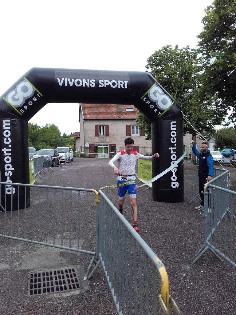 Samuel MARAFFI, vainqueur du trail 12kms pour la 2ème année consécutive (catégorie Hommes)
