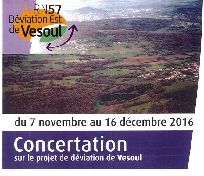 Déviation de Vesoul : DONNEZ VOTRE AVIS !