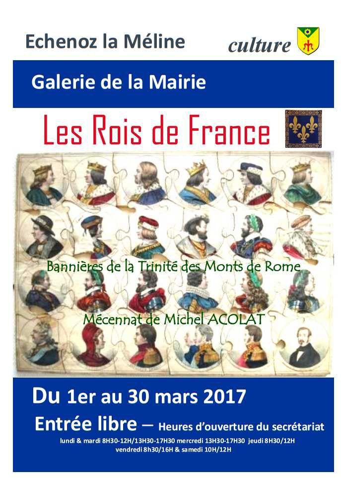 Galerie de la Mairie : Exposition du 1er au 30 mars 2017