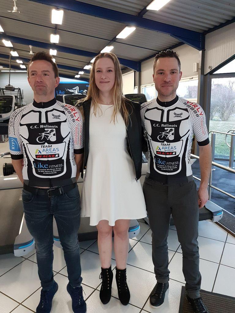 Le CCM (Club Cycliste Mélinois) en forme !