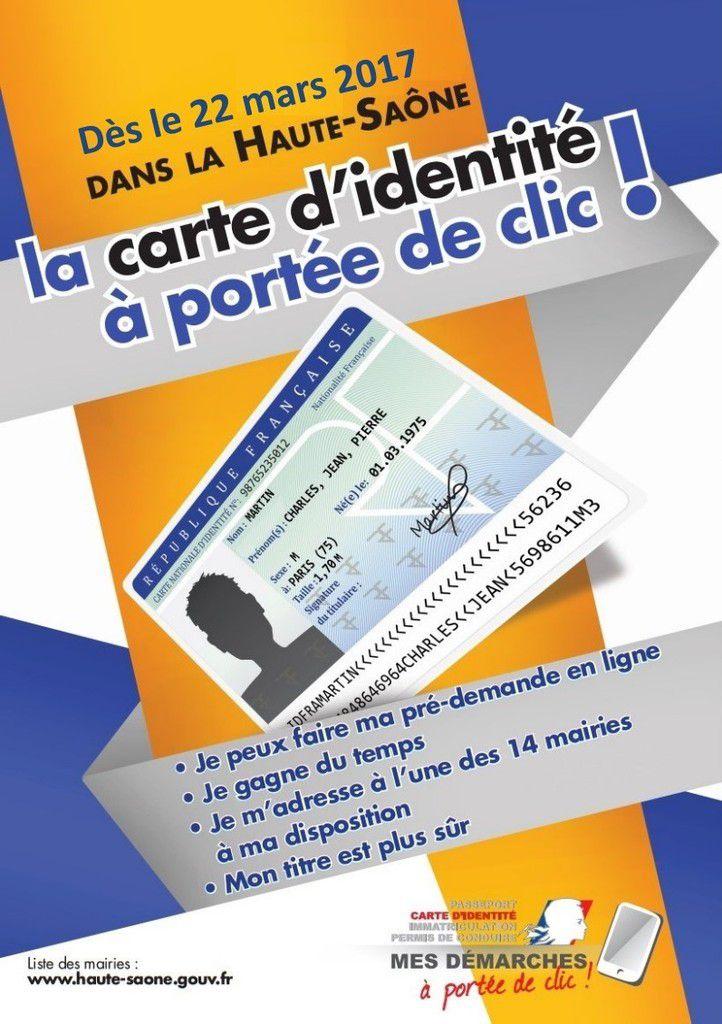 Echenoz-la-Méline ne délivre plus de Carte Nationale d'Identité