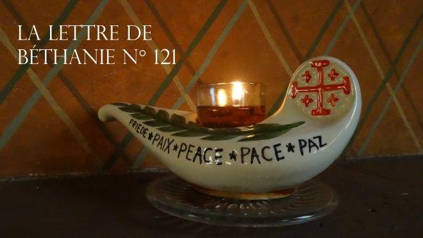 La Lettre de Béthanie N° 121