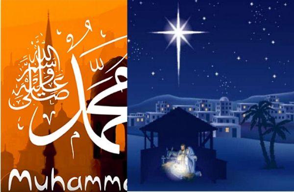 Fête de la naissance de Jésus et de Mahomet le même jour en 2015