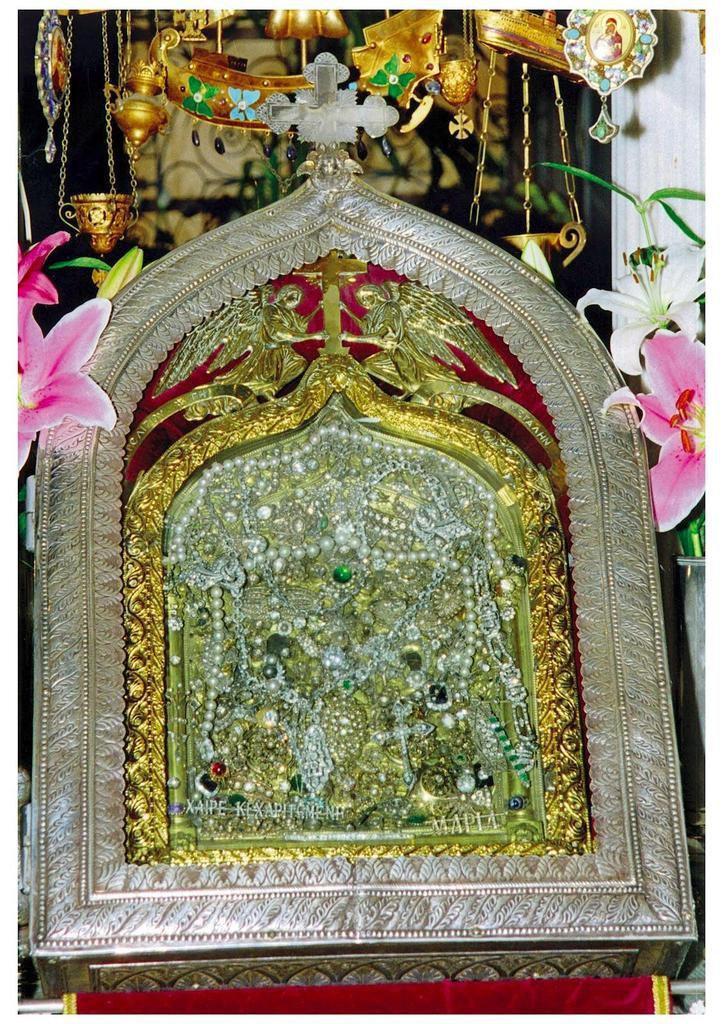Sainte Pélagie de Tinos et l'icône miraculeuse