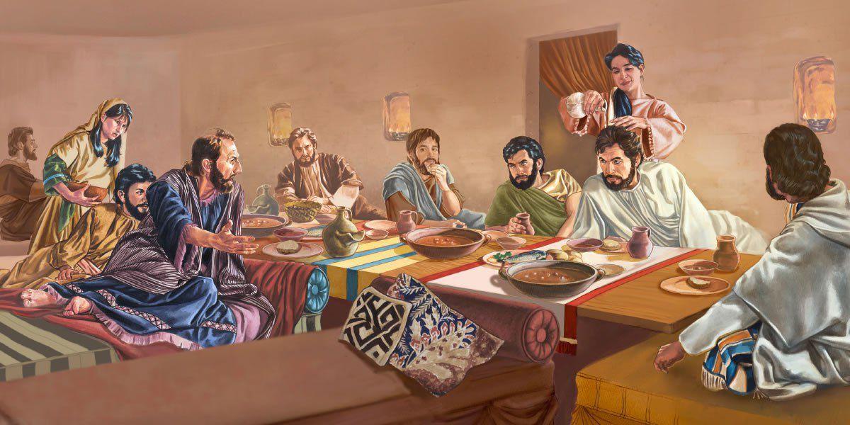 Jésus mangeait-il assis ou couché ?