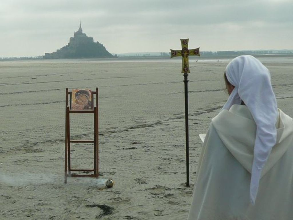 Pèlerinage spirituel au mont Saint-Michel