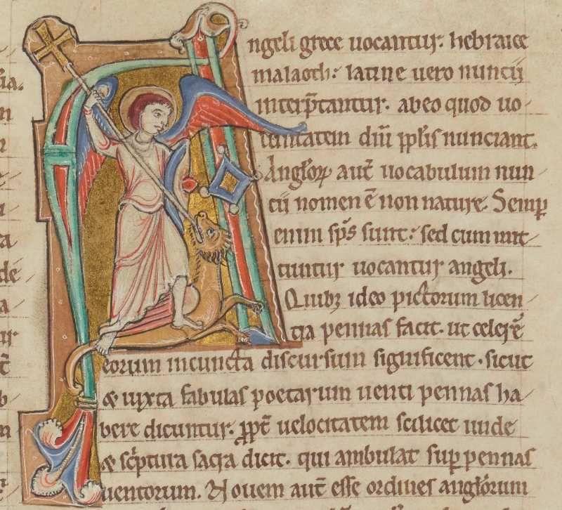 Homiliarium Corbeiense, III pars, ditGrand lectionnaire de Corbie, tome III, manuscrit Latin 11700, Corbie, vers 1179.