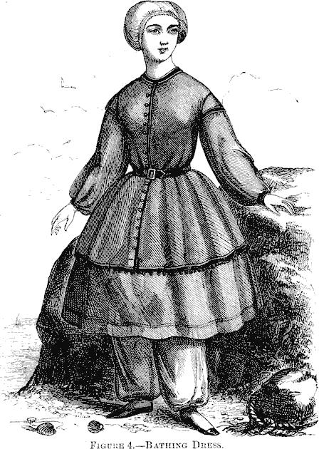 Costume de bain 1858