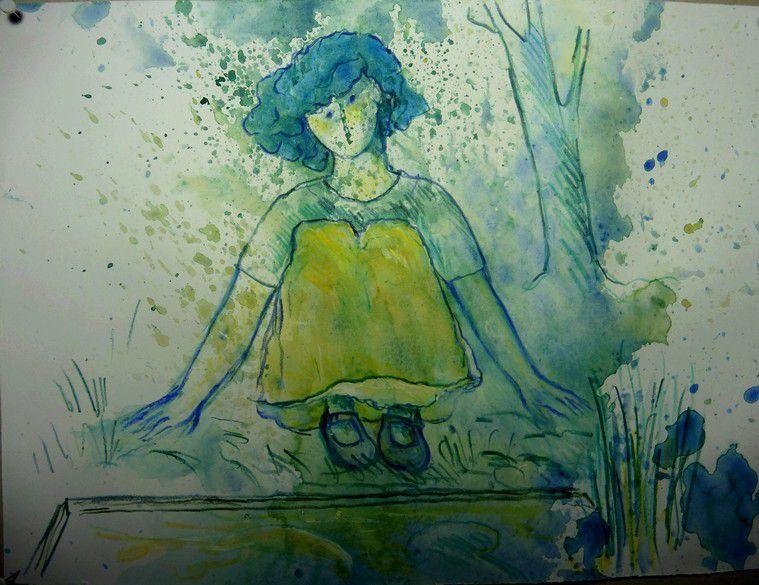chapitre 1992 : autoportrait près du bassin