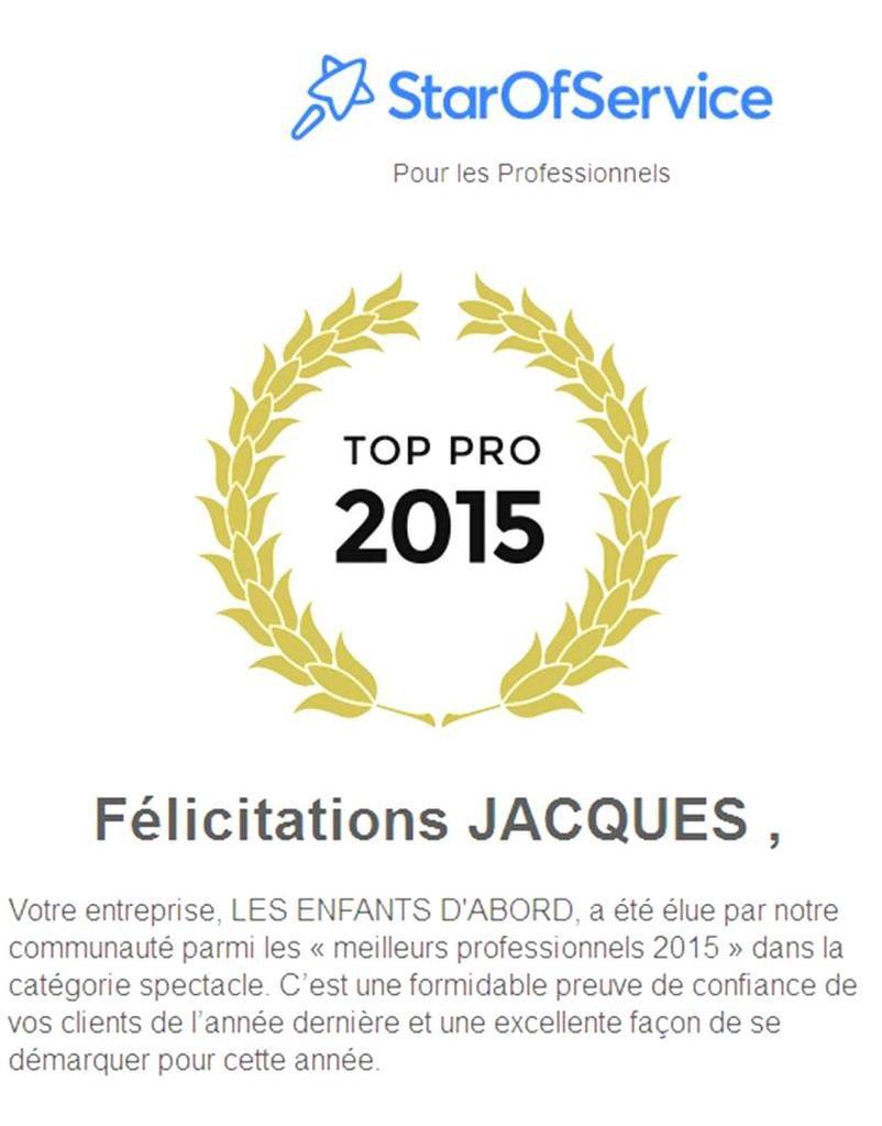 Elu TOP PRO 2015 - StarOfService