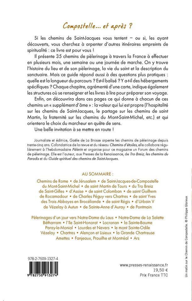 Un nouveau livre où on parle de La Voie de Rocamadour en Limousin et Haut-Query