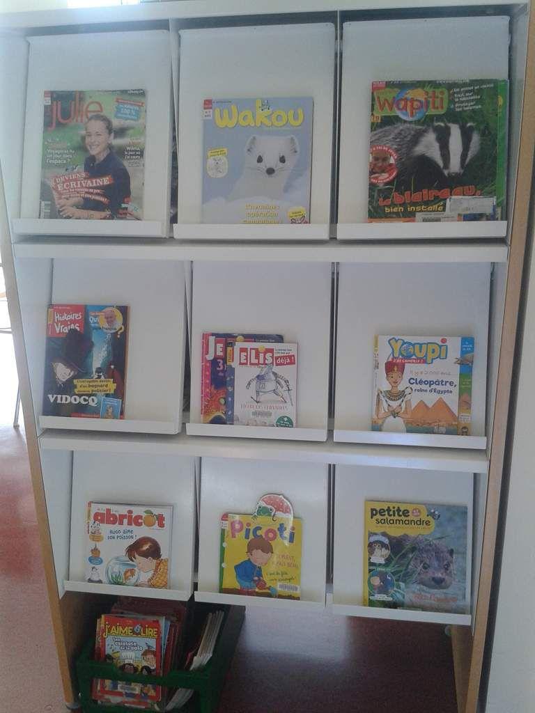 Nouvelles revues jeunesse et adulte