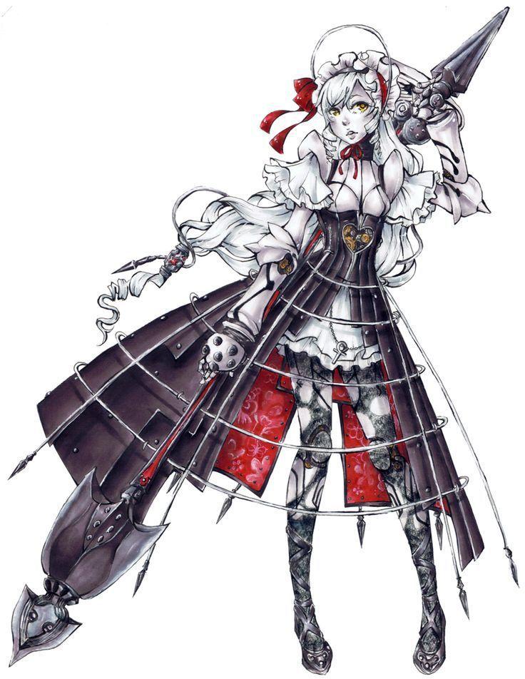 Ashlotte, de Soul Calibur
