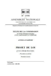 Réforme ferroviaire : Haut Comité du Système de Transport Ferroviaire