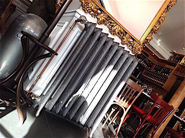 Fleurs de fonte quimper recyclage radiateur fonte ancien vente robinetterie - Radiateur fonte paris ...