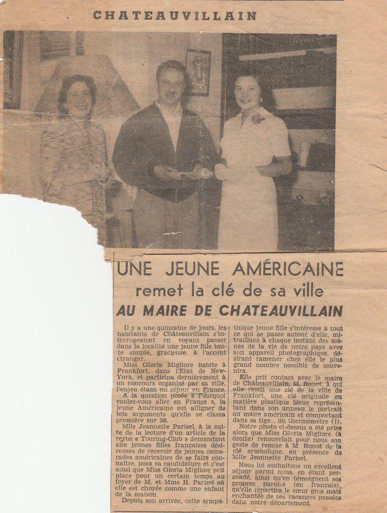 Juin 1954... Souvenirs