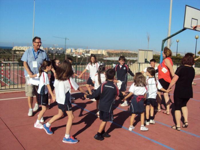 Tous les élèves ont participé avec enthousiasme aux jeux proposés.
