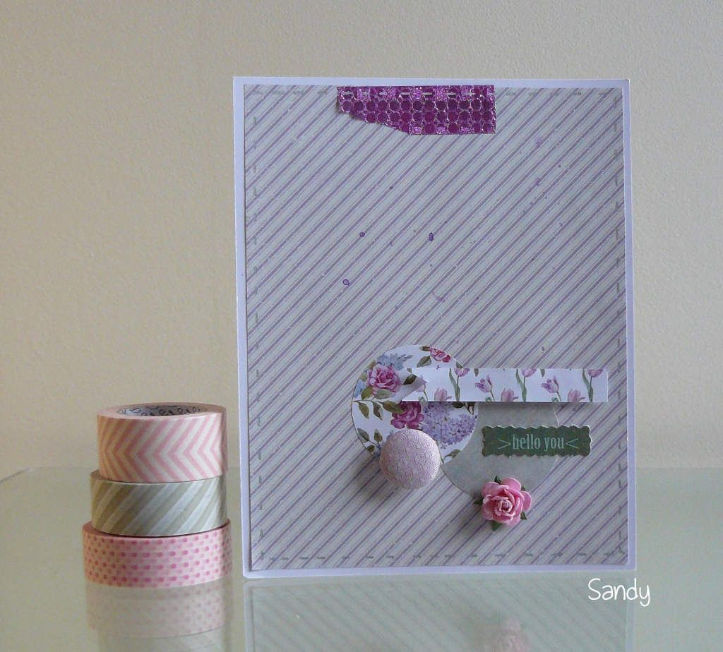 Lift de carte Scrap&amp&#x3B;Co et carte d'anniversaire