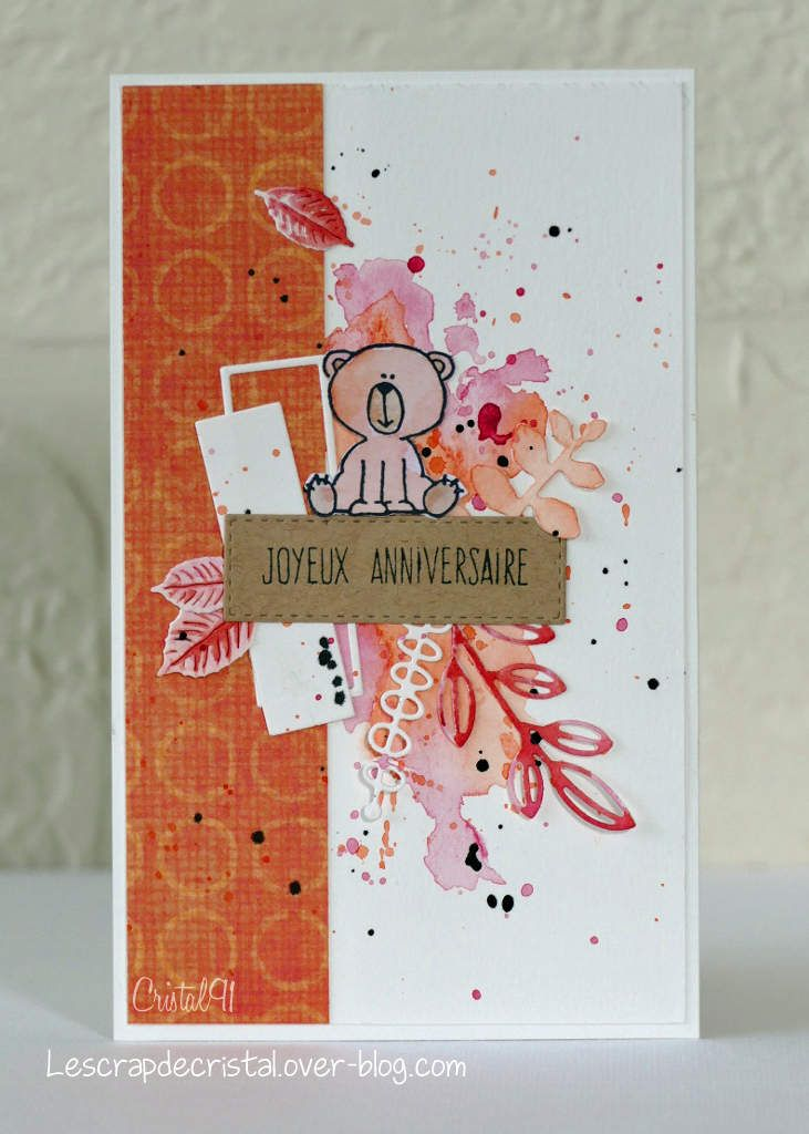 Scrap&amp&#x3B;Co - Défi lift carte Octobre 2017