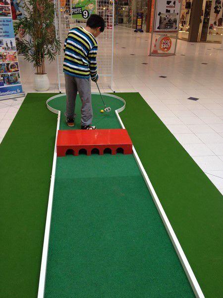 Initiation au golf