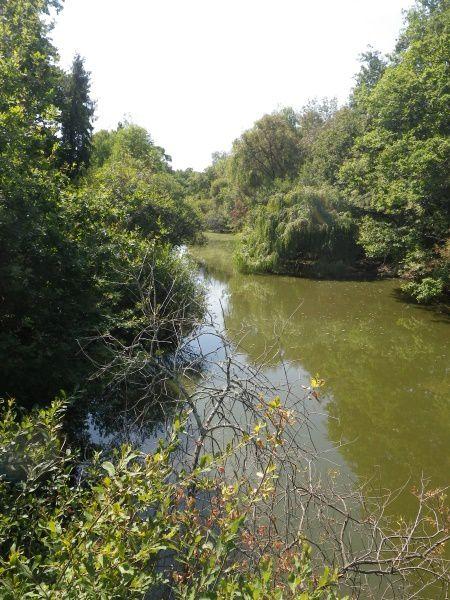 Le canal alimentant le lac