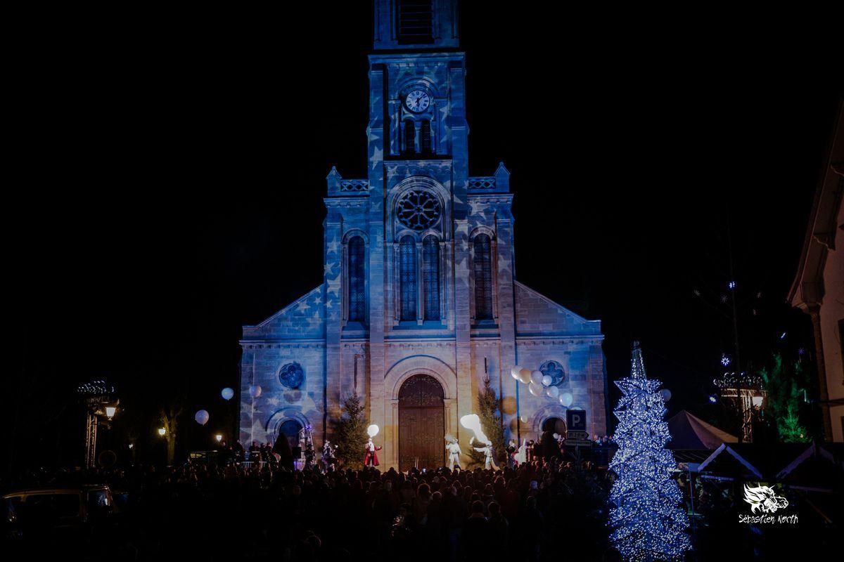 """Photos Seb North, """"Mattaféeries"""" par les Mattagumber, les 19 et 20 décembre 2015 dans le cadre de la Forêt Enchantée d'Altkirch."""