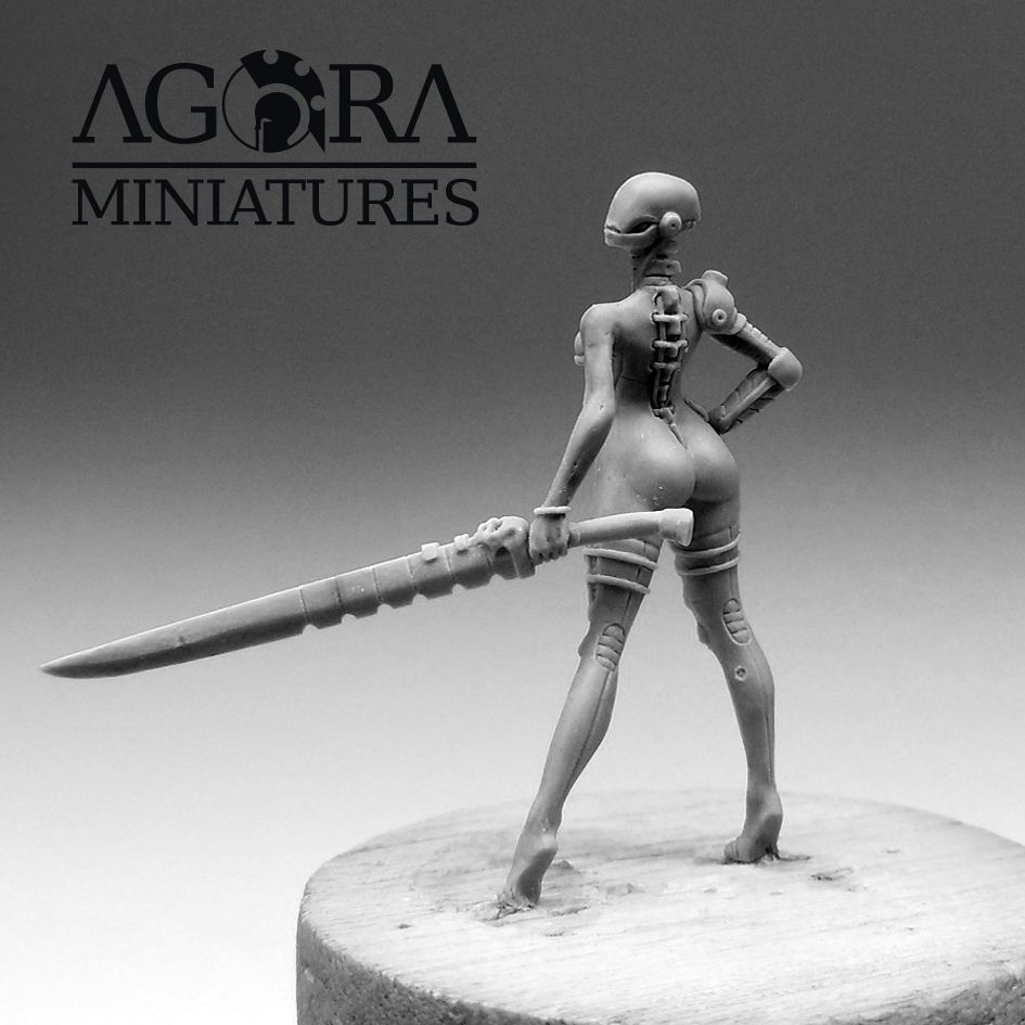 Agora Miniatures&#x3B; The Muse of Death