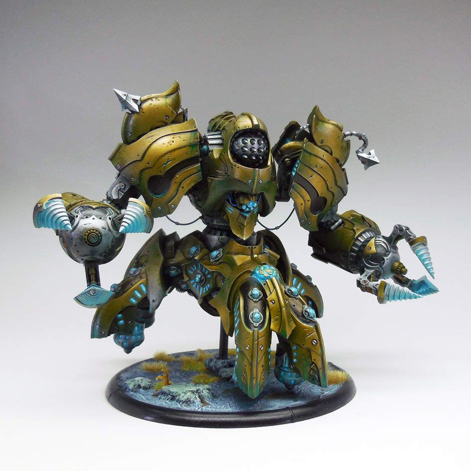 Hobbytime&#x3B; Warmachine: Iron Mother et Prime Axiom
