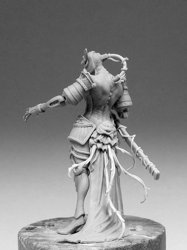 Kingdom Death&#x3B; The Sci-Fi Flower Knight.