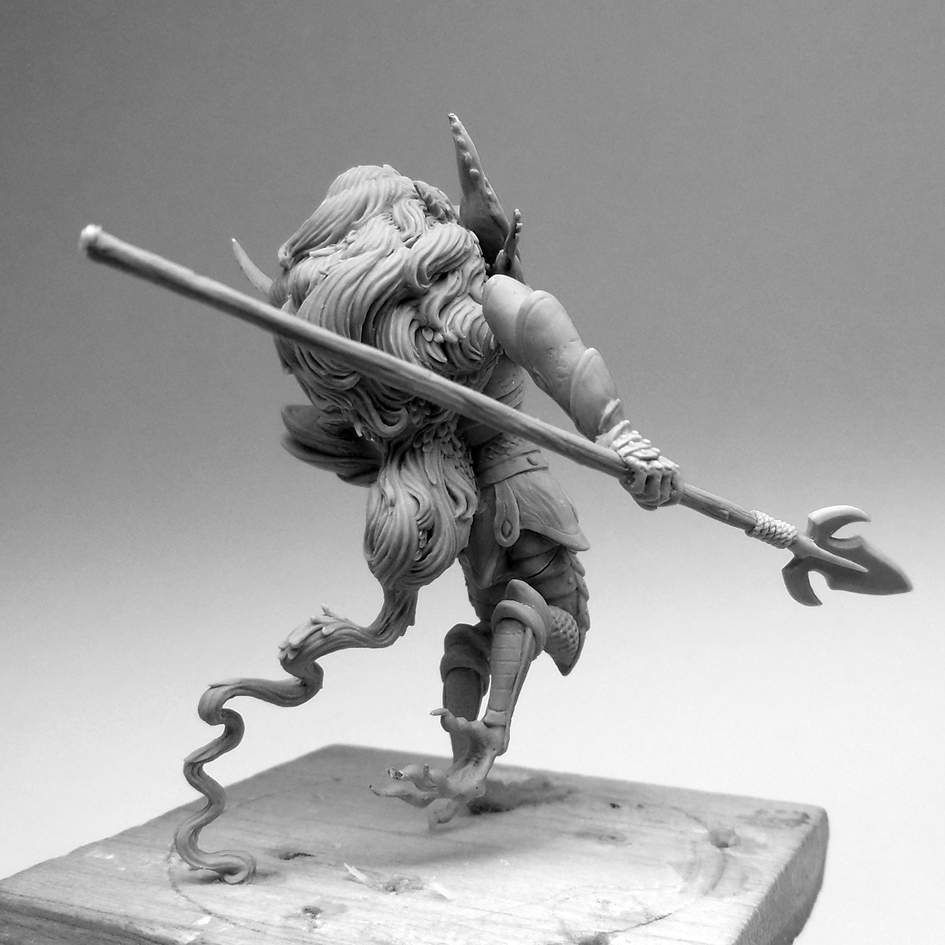 Kingdom Death&#x3B; The Sparrow Goblin Guard