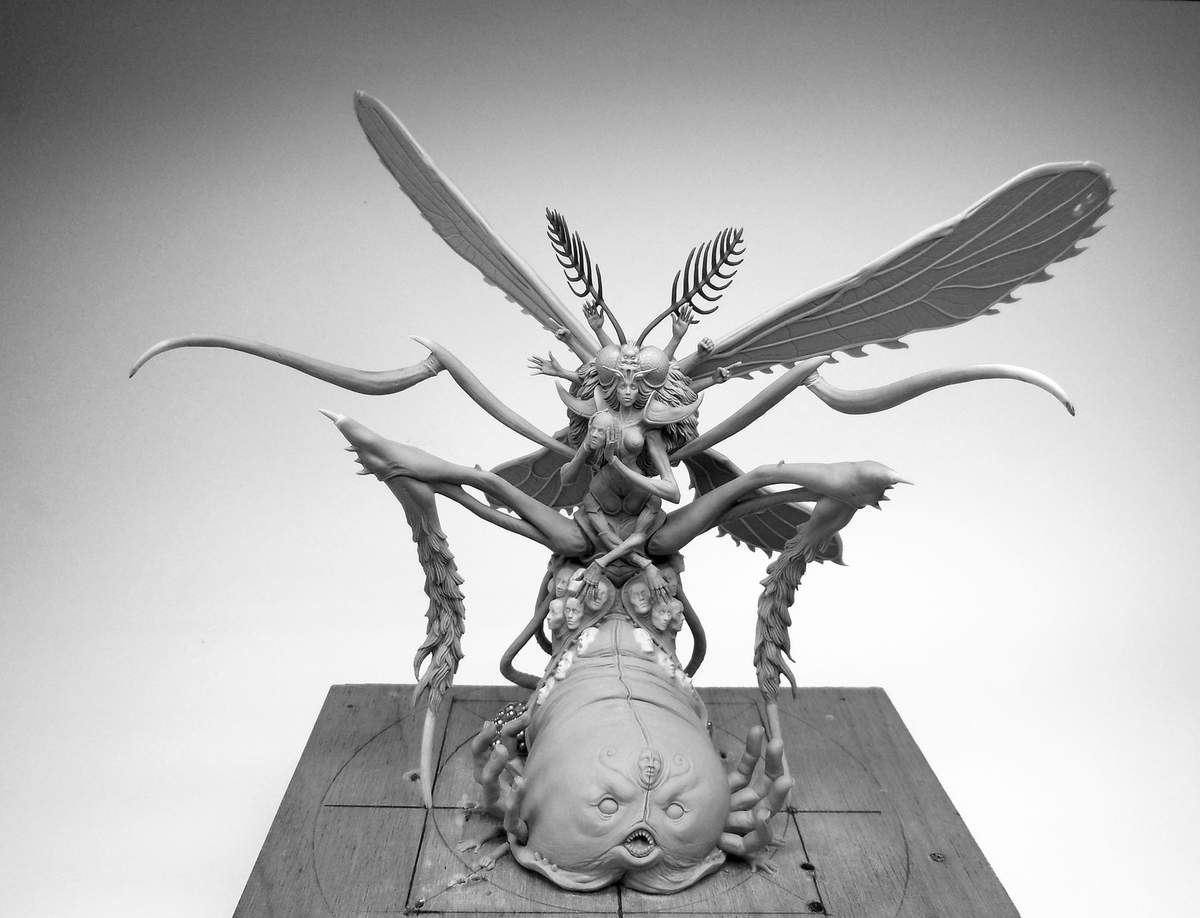 Kingdom Death&#x3B; The Oblivion Mosquito!