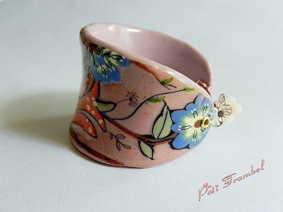 """Bracelet """" Le Jardin d'Atalante """" ! L'enchantement d'un jardin mythique !......."""