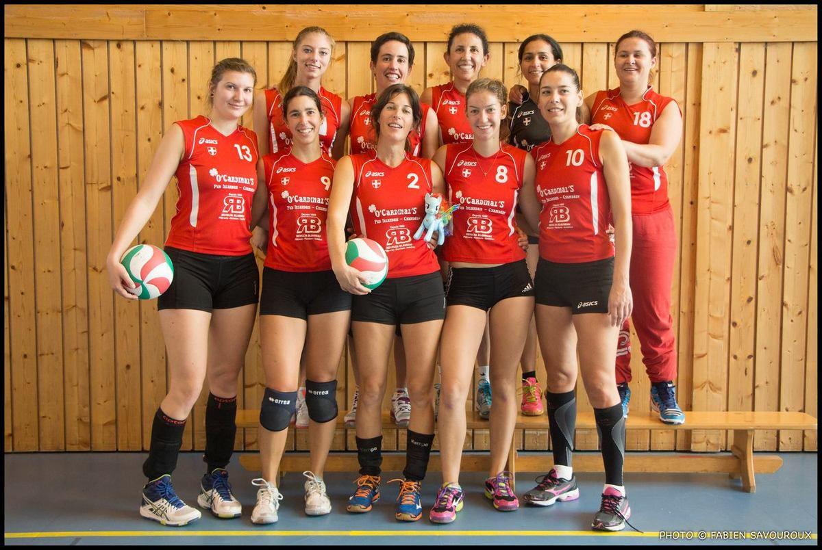 VOLLEY BALL - les féminines de Chambéry en Nationale 3!