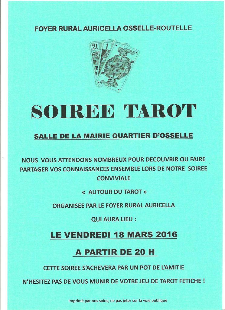 Soirée Tarot
