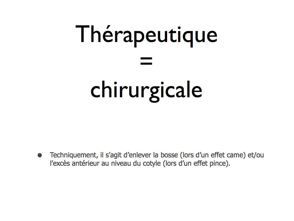 - LES ARTHROSCOPIES DE HANCHE : CAFA , conflit antérieur fémoro acétabulaire et lésions du labrum