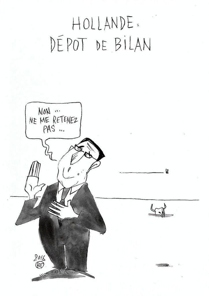Hollande toujours normal !