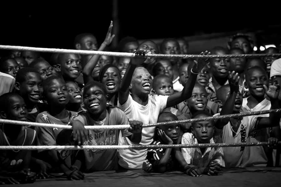 Fight for your dreams - The boxers of Bukom. / Patrick Sinkel,