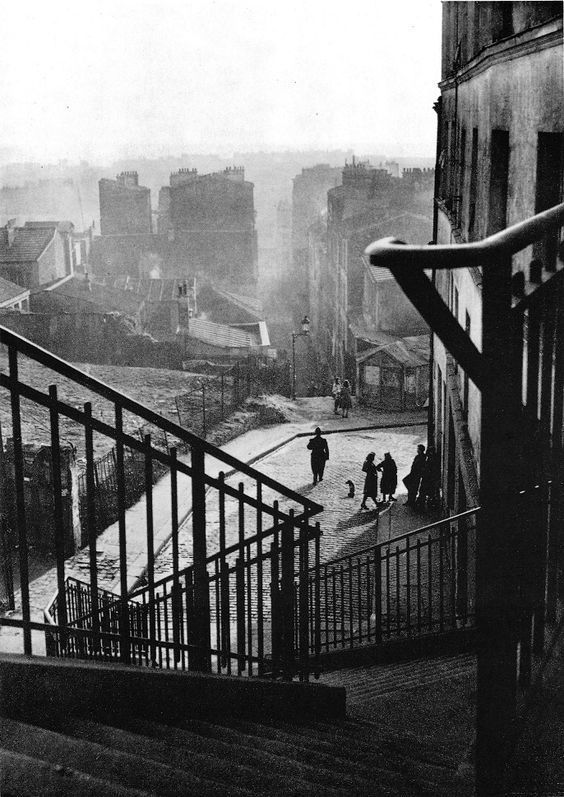 Willy Ronis Belleville  - Paris 1948
