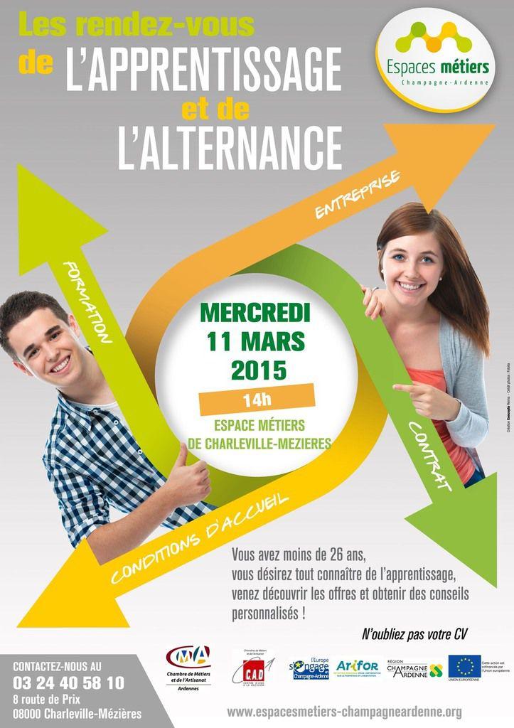 Information collective sur « l'apprentissage » le Mercredi 11 mars 2015