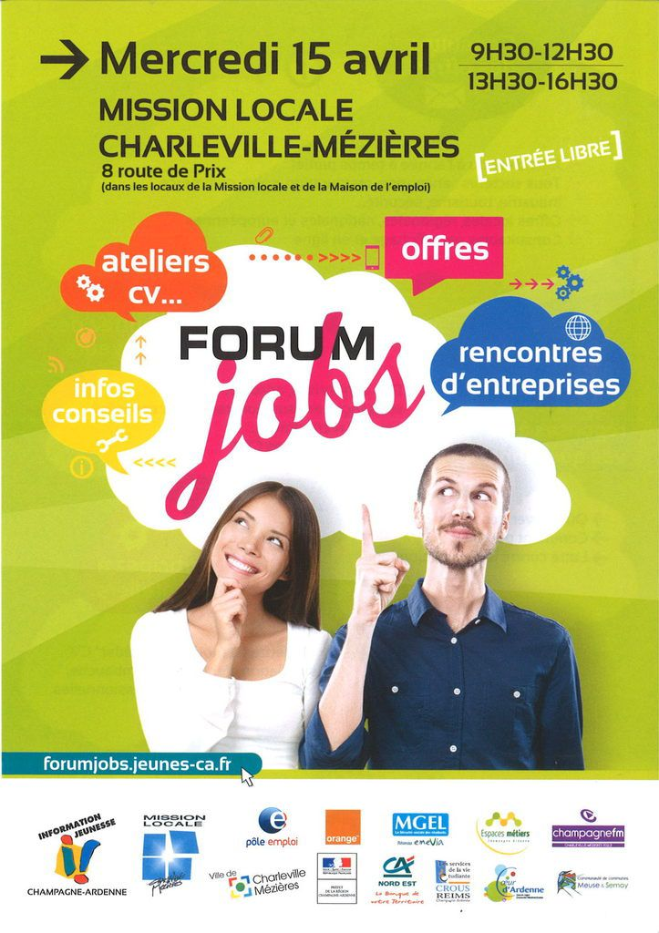 Forum Jobs le 15 avril 2015