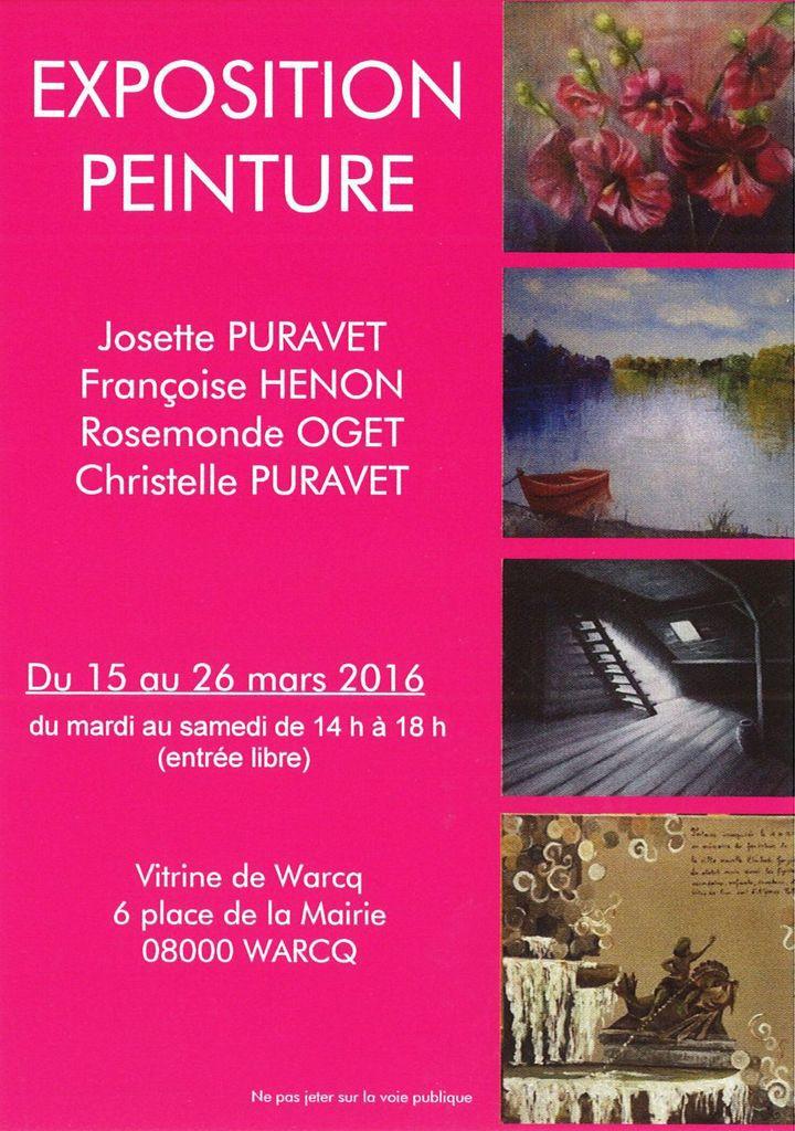 Exposition Vitrine de Warcq du 15 au 26 Mars 2016