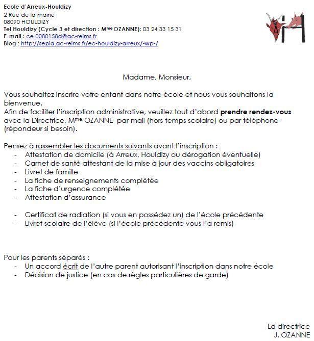 Ecole Arreux-Houldizy