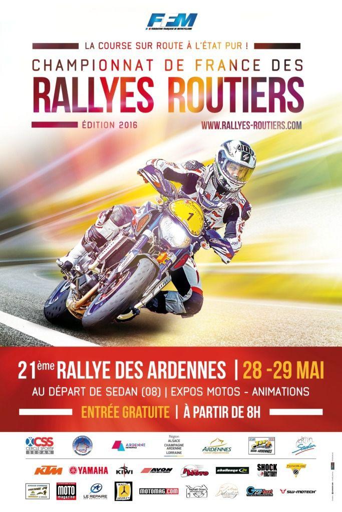 Arreux passage du 21e Rallyes Routiers des Ardennes 28-29 mai 2016