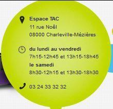 Bus Tac Ardenne Métropole : Horaires/Tarifs/Divers