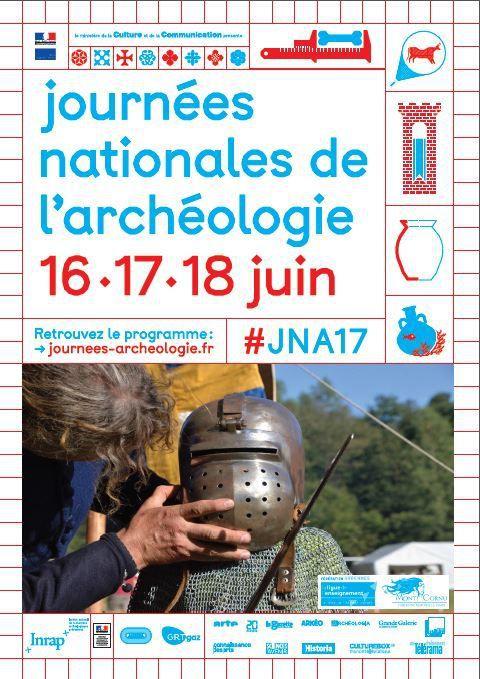 Montcornet : Journées Nationales Archéologie 16, 17 et 18 Juin 2017