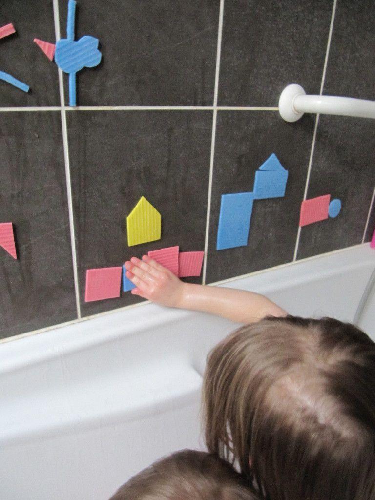 DIY pour un jeu de bain que les enfants adoreront!