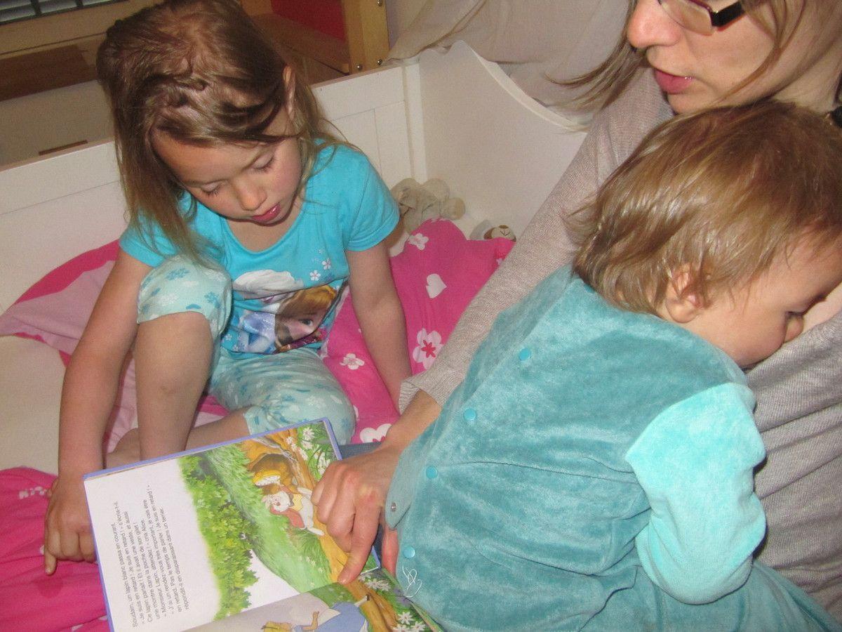 Instants de lecture seul ou en famille