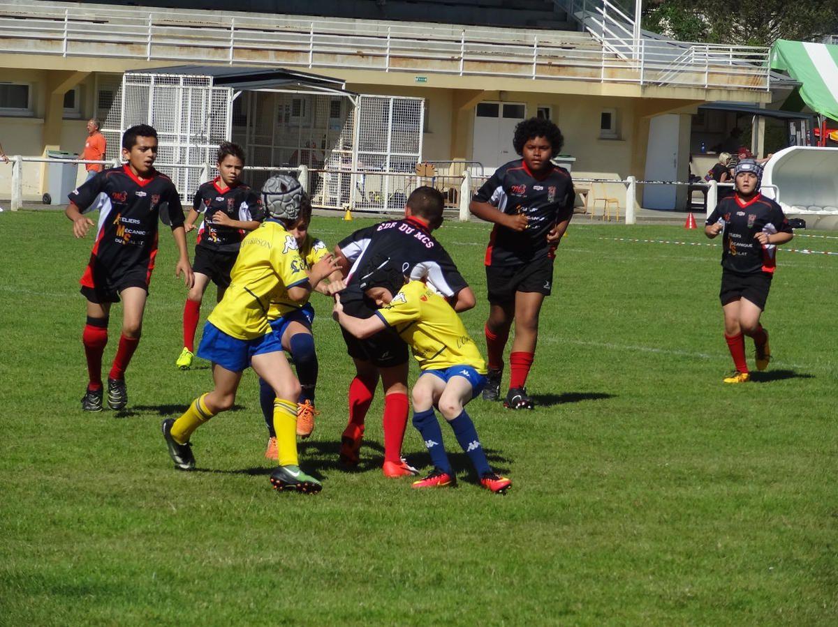 Mazères - Cassagne Rentrée de l'Ecole de Rugby du Mazères Cassagne Sports