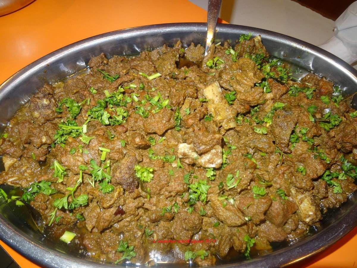 Ma recette de cabri massal jasmine cuisine - Cabri massale cuisine reunionnaise ...