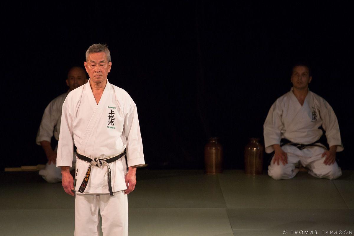 Photos de la démonstration de Uechi-Ryu à la NAMT 2016